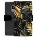 Samsung Galaxy S9 Premium Wallet Case - Golden Leaves
