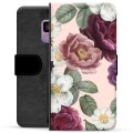 Samsung Galaxy S9 Premium Wallet Case - Romantic Flowers