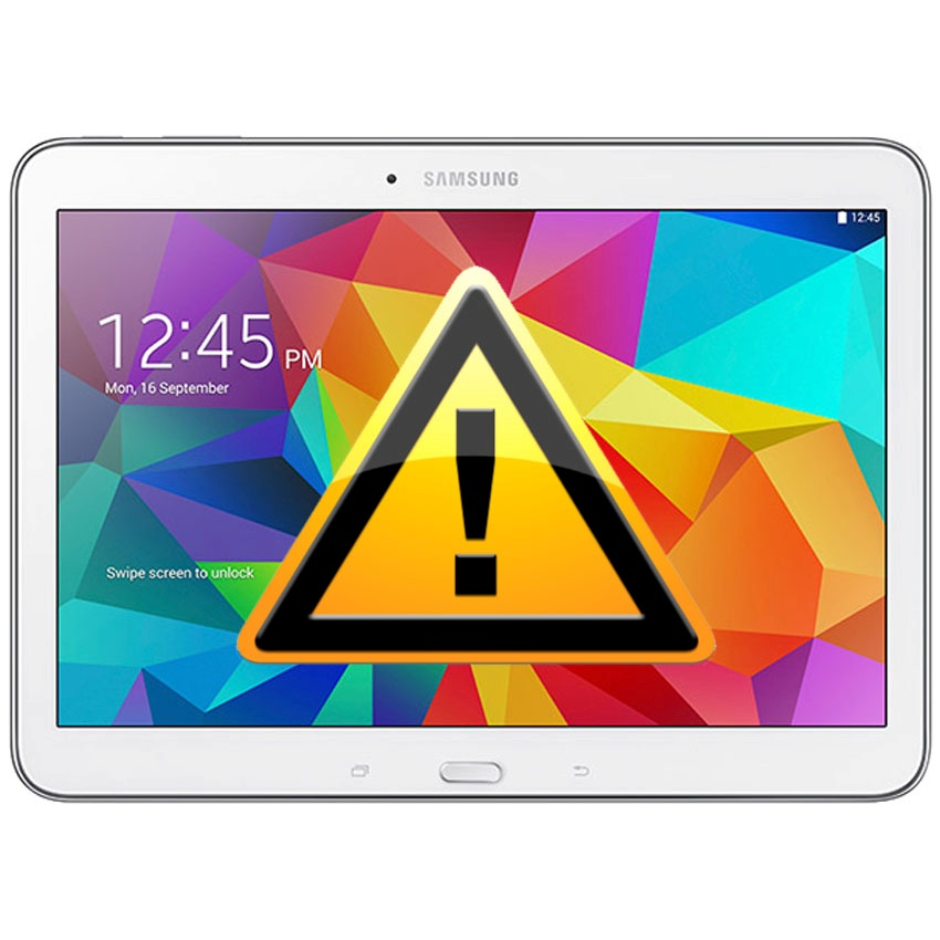 Samsung Galaxy Tab 4 10 1 Charging Connector Flex Cable Repair - How To Fix Loose Charging Port On Tablet