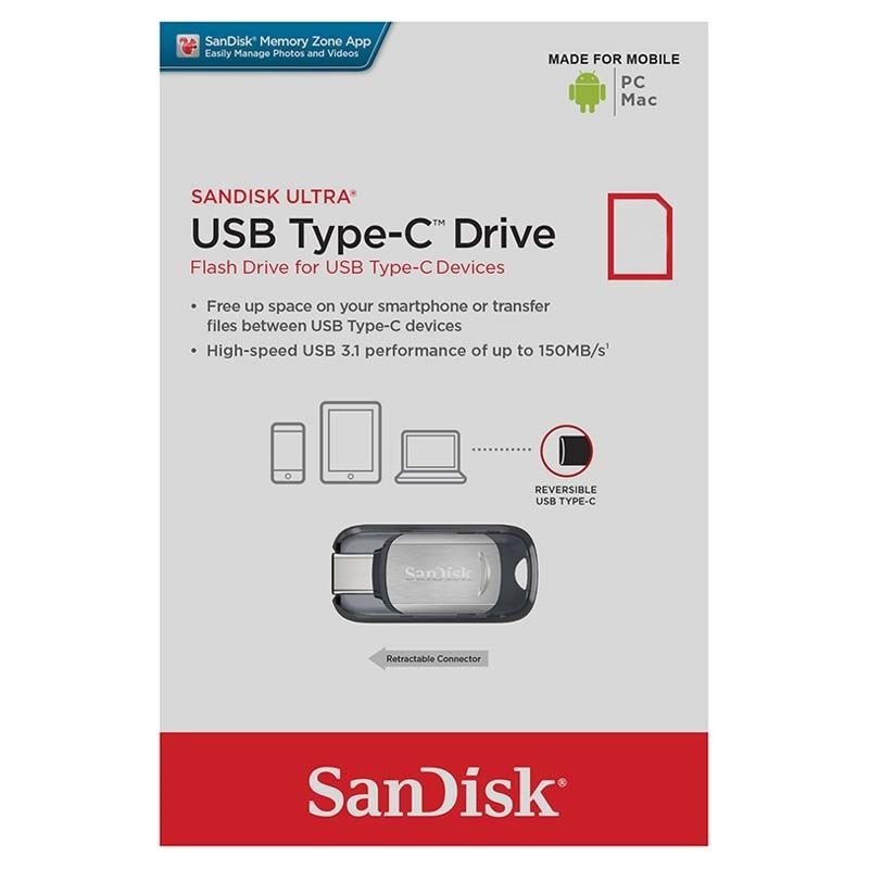 SanDisk Ultra USB Type C Flash Drive
