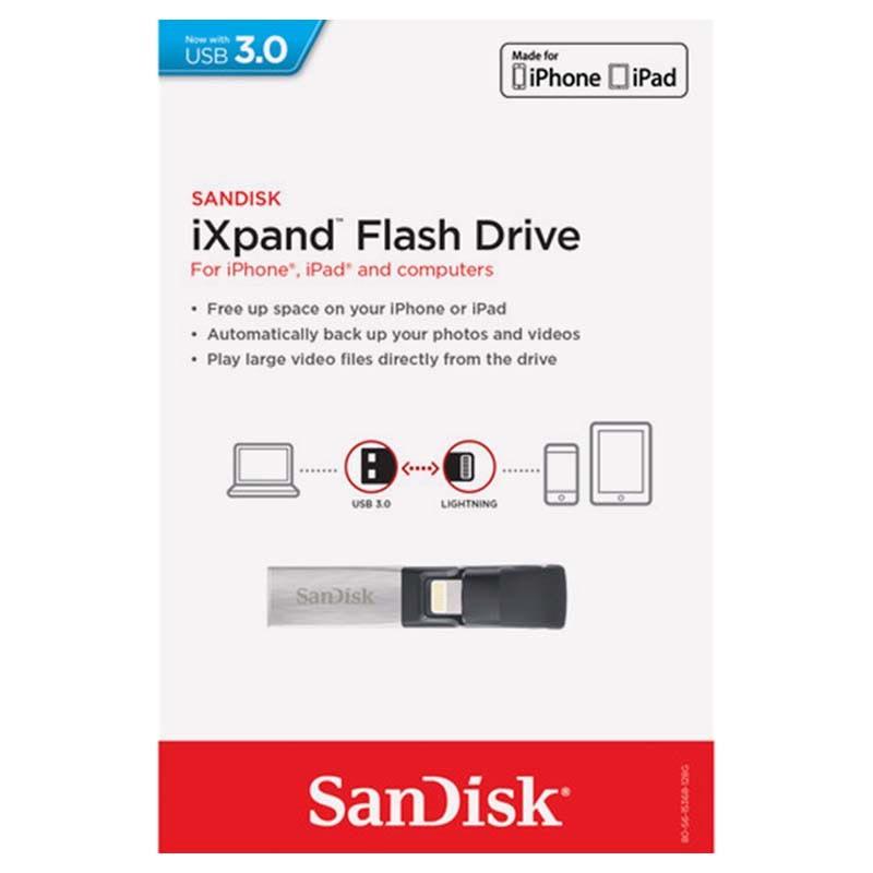 sandisk ixpand lightning usb 3 0 flash drive. Black Bedroom Furniture Sets. Home Design Ideas