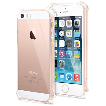 Scratch-Resistant iPhone 5/5S/SE Hybrid Case - Crystal Clear