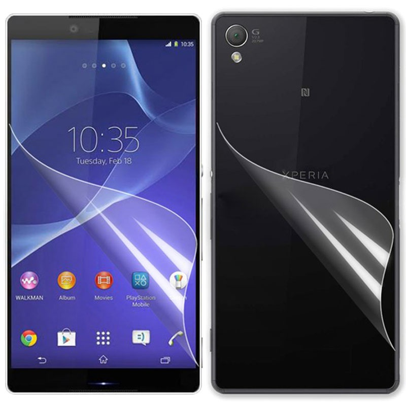 Sony xperia z3 screen protector set clear reheart Choice Image