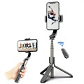 Selfie Stick with Gimbal Stabilizer and Tripod Stand L08