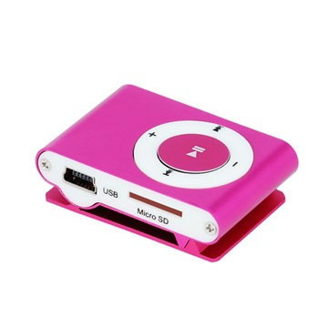 Setty Mini Mp3 Music Player Set Headphones Hot Pink 16012018 01