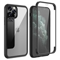 Shine&Protect 360 iPhone 11 Pro Max Hybrid Case - Black / Clear