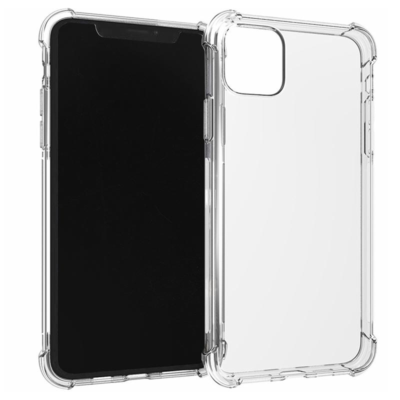 Shockproof iPhone 11 TPU Case - Transparent