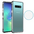 Shockproof Samsung Galaxy S10+ TPU Case - Transparent