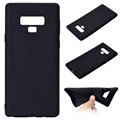 Samsung Galaxy Note9 Silicone Case - Flexible and Matte - Black