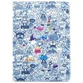 iPad Air 2 Smart Folio Leather Case - Doodles