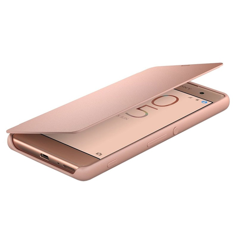 Sony Xperia Xa Style Cover Flip Scr54 Rose Gold