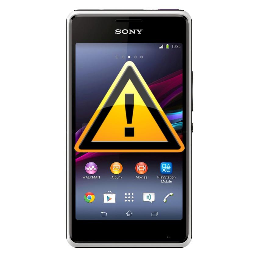 Sony Xperia E1 Power Lock Button Repair Black