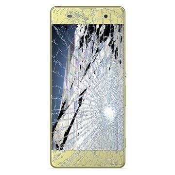 sony xperia xa dual lcd and touch screen repair lime gold