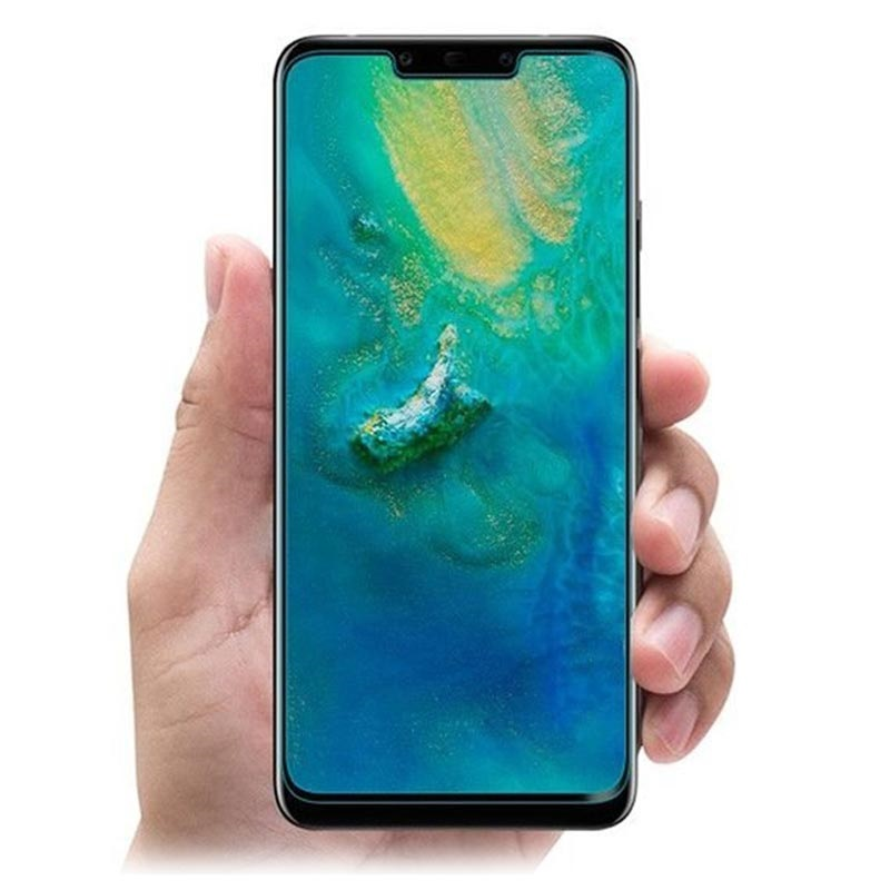 quality design ff930 95a56 Spigen Glas.tR Curved Huawei Mate 20 Pro Screen Protector - Black