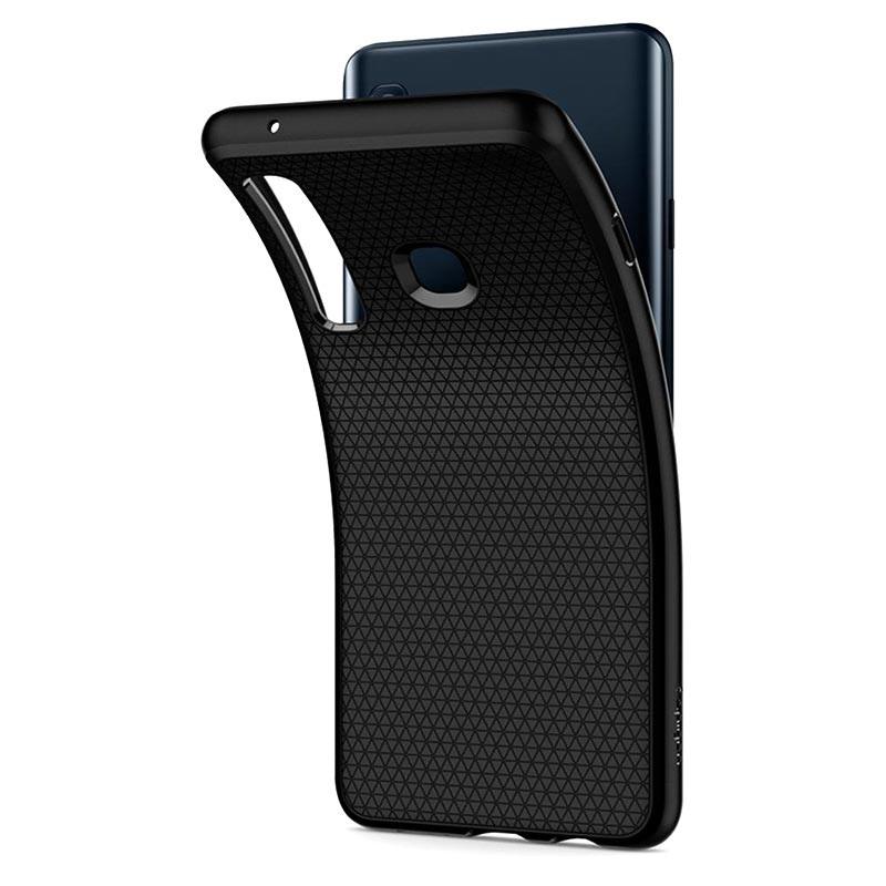 buy online e45dc 6d867 Spigen Liquid Air Samsung Galaxy A9 (2018) TPU Case - Black