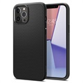Spigen Liquid Air iPhone 12 Pro Max TPU Case - Black
