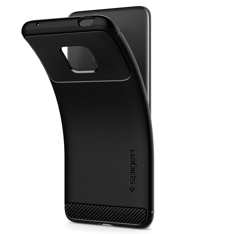 Spigen Rugged Armor Huawei Mate 20 Pro TPU Case - Matte Black