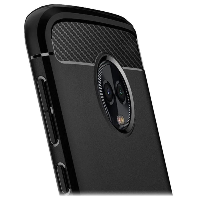 best service 266b1 1d73a Spigen Rugged Armor Motorola Moto G6 Plus TPU Case - Matte Black