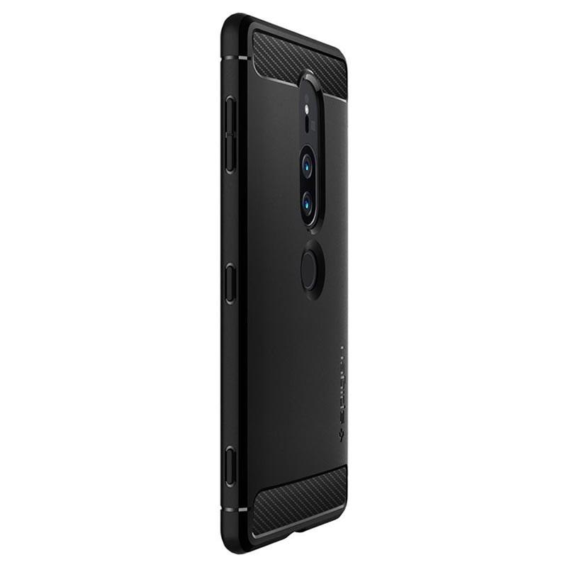 wholesale dealer 8e506 84350 Spigen Rugged Armor Sony Xperia XZ2 Premium Case - Black
