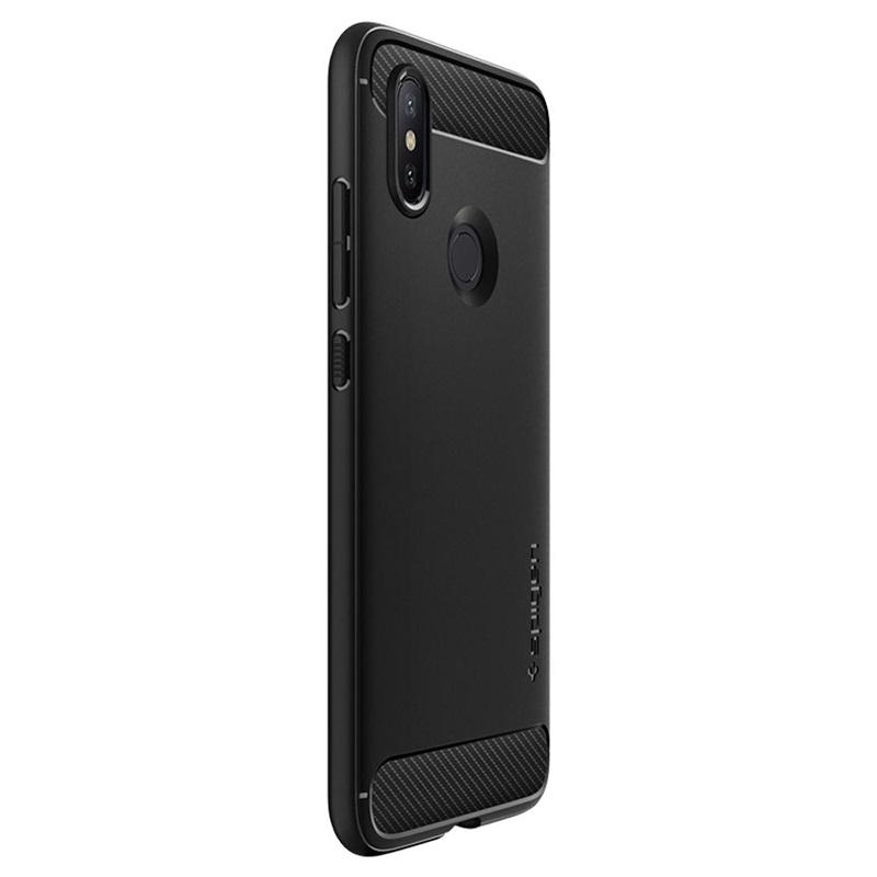 huge discount 6789e b4bfc Spigen Rugged Armor Xiaomi Mi A2 TPU Case - Matte Black