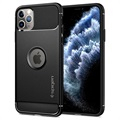 Spigen Rugged Armor iPhone 11 Pro Case - Black
