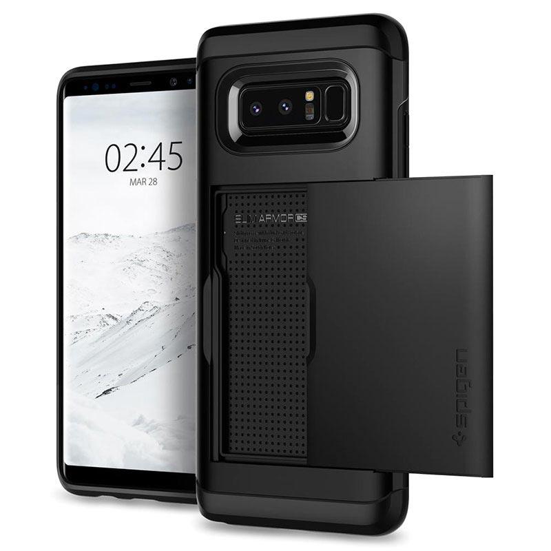 Samsung Galaxy Note8 Spigen Slim Armor Cs Case Black