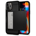 Spigen Slim Armor CS iPhone 12/12 Pro Case - Black