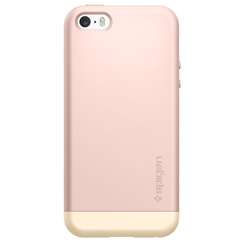 iphone pink gold iphone 5 5s se spigen style armor gold 7172