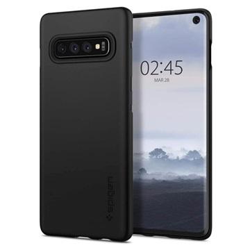 on sale 8f74f fa78a Spigen Thin Fit Samsung Galaxy S10 Case - Black