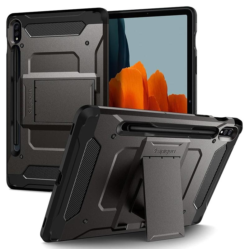 Spigen Tough Armor Pro Samsung Galaxy Tab S7 Case - Black