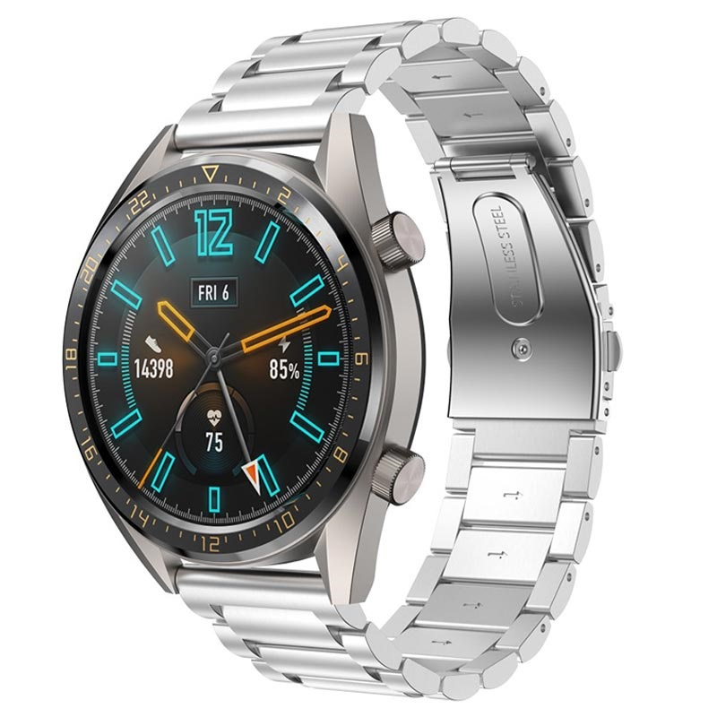 Huawei Watch GT Stainless Steel Strap - Silver