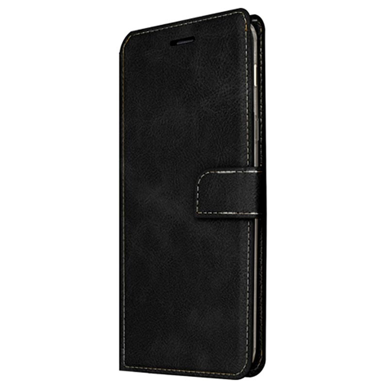 Star Case Soul Samsung Galaxy S8+ Wallet Case with Card Slots Black