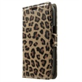 Samsung Galaxy Ace Style LTE Wallet Leather Case - Leopard