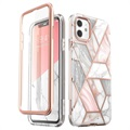 Supcase Cosmo iPhone 11 Hybrid Case - Pink Marble