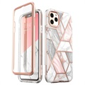 Supcase Cosmo iPhone 11 Pro Hybrid Case - Pink Marble