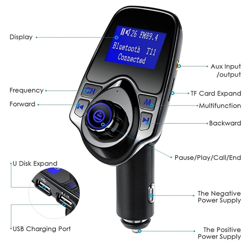 Magnetic car phone holder vent 16