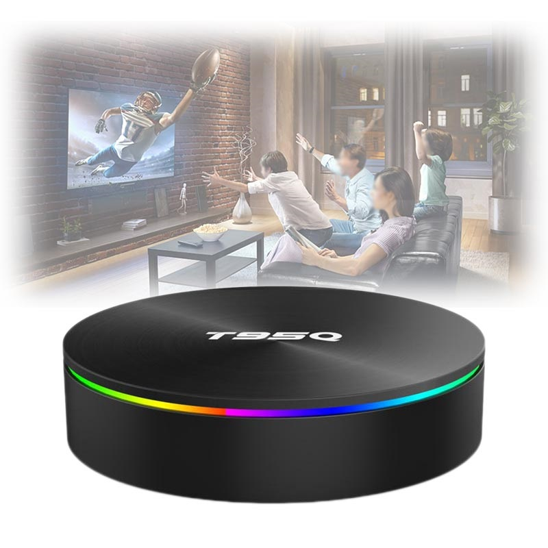 T95Q Amlogic S905X2 Android 8 1 TV Box with 4GB RAM, 64GB ROM