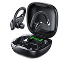 TWS Bluetooth Earphones with LED Charging Case MD03 - Black