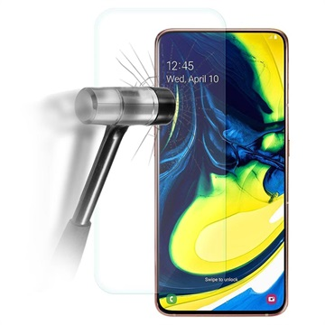 Samsung Galaxy A80 Tempered Glass Screen Protector - 9H, 0.3mm - Clear