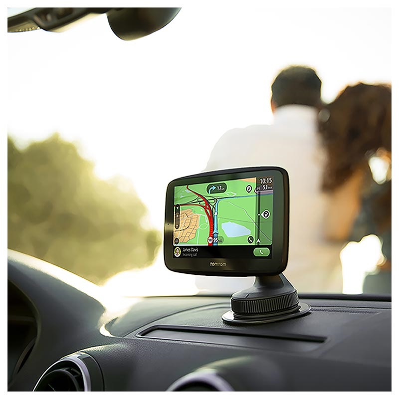 TomTom Go Essential GPS with Voice Control - Europe Maps