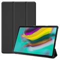 Tri-Fold Series Samsung Galaxy Tab S5e Folio Case - Black