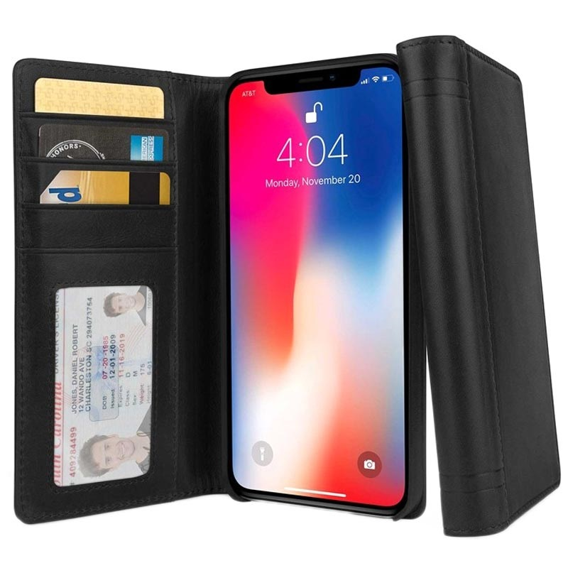 twelve south iphone xs max  Twelve South Journal iPhone XS Max Wallet Leather Case