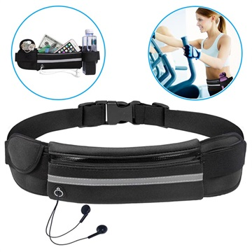 Ultimate Water Resistant Sports Belt with Bottle Holder