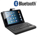 "Universal Tablet Bluetooth Keyboard & Leather Case 7""-8"" - Black"