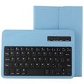 "Universal Tablet Bluetooth Keyboard & Leather Case 7""-8"" - Blue"