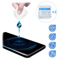 Universal Nano Liquid Screen Protector for Smartphone, Tablet - 2 Pcs.