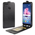 Huawei P Smart Vertical Flip Case with Card Slot