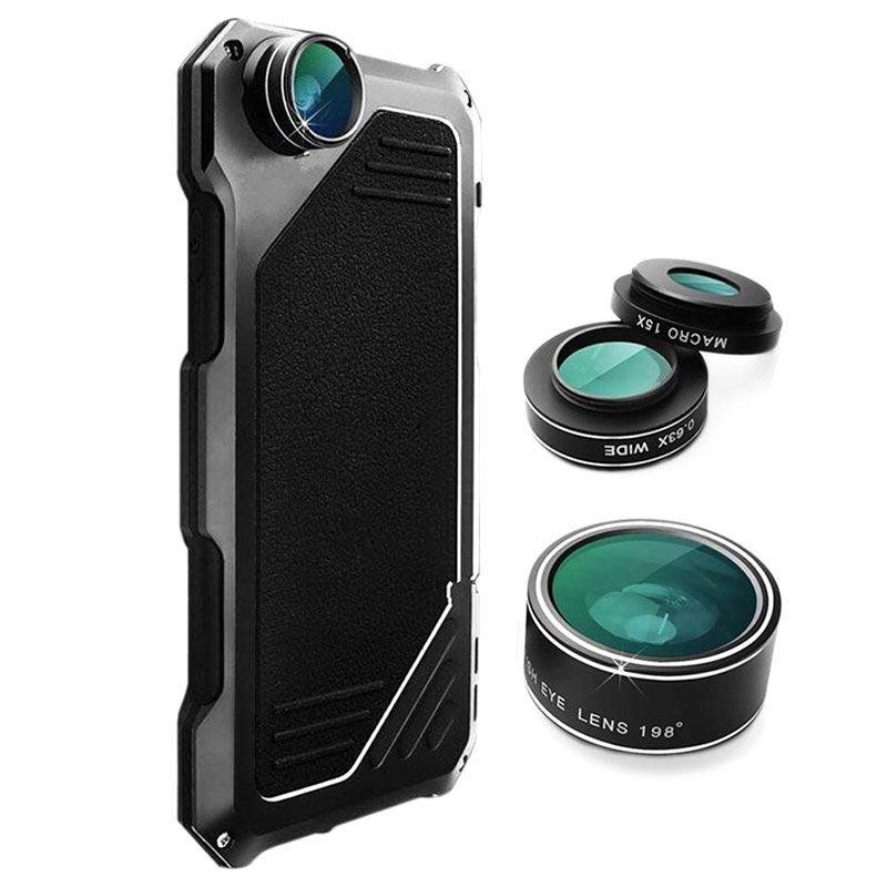 meet b8faf c3a7e iPhone 7 / iPhone 8 Viking Case with Camera Lens Set