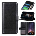 Huawei P40 Lite E, Y7p Wallet Case with Magnetic Closure - Black