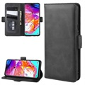 Samsung Galaxy A20s Wallet Case with Magnetic Closure